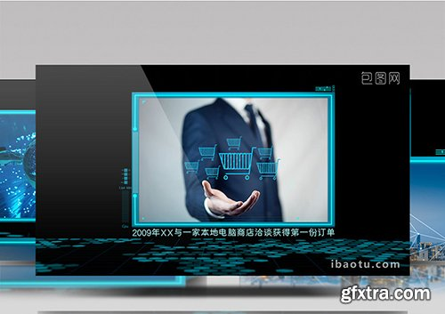 Dynamic Technology Exhibition EDIUS Template