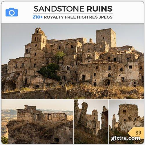 PhotoBash - SANDSTONE RUINS