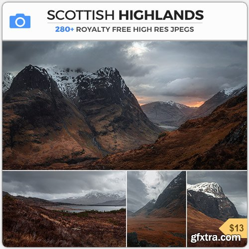 PhotoBash - SCOTTISH HIGHLANDS
