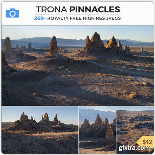 PhotoBash - TRONA PINNACLES