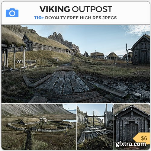 PhotoBash - VIKING OUTPOST