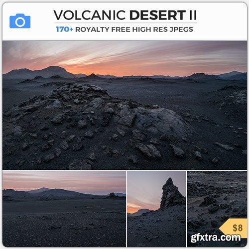 PhotoBash - VOLCANIC DESERT II