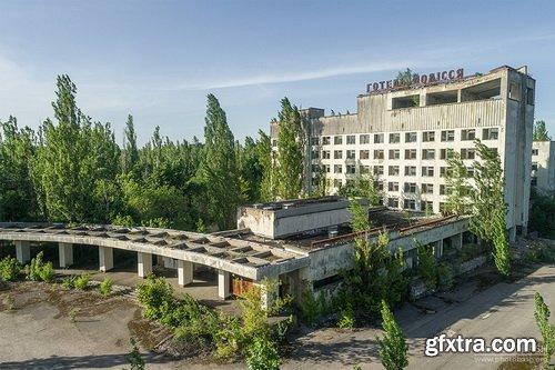 PhotoBash - CHERNOBYL EXCLUSION ZONE