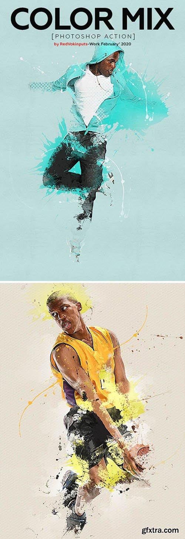 Graphicriver - Color Mix Photoshop Action 25761920
