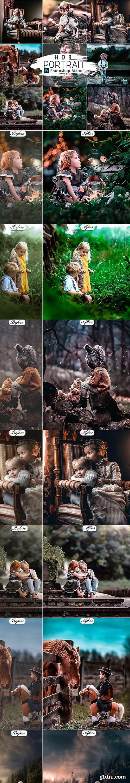 Graphicriver - HRD Portrait Photoshop Actions 25818352