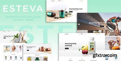 ThemeForest - Esteva v1.0.0 - Nutrition and Wellness Shopify Theme - 25543570
