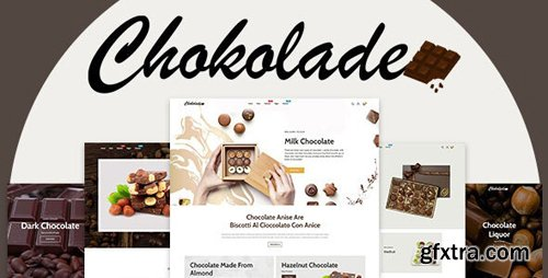 ThemeForest - Chokolade v1.0.0 - Chocolate Sweets & Candy And Cake Shopify Theme - 25792752