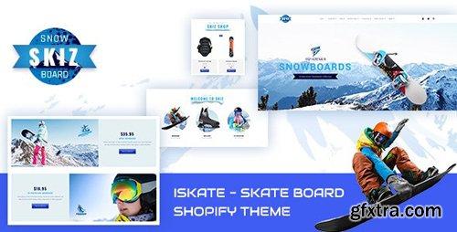 ThemeForest - Skiz v1.1 - Fitness Gym Sports Shopify Theme - 23621534