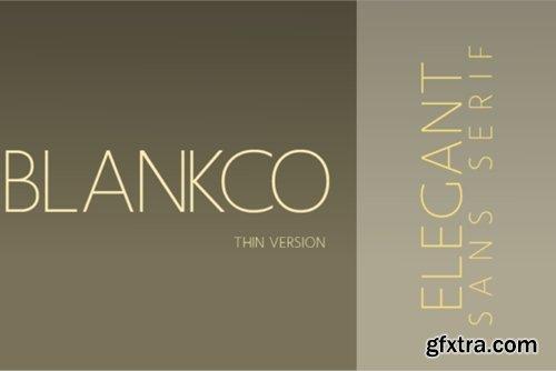 Blankco 5 Font