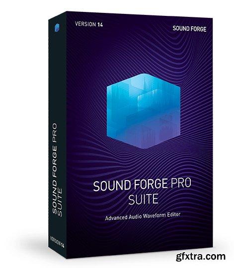 MAGIX SOUND FORGE Pro Suite 14.0.0.43 (x64) Portable