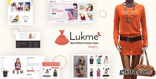 ThemeForest - Lukme v1.1 - Fashion Store Shopify Theme - 24226354