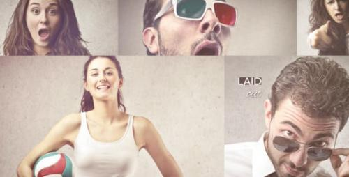 Videohive - Laid Out Photo Slideshow