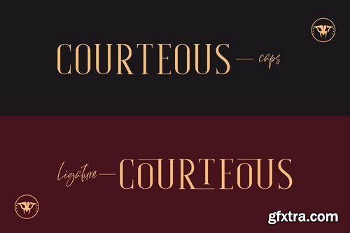 CM - Courteous Elegant Serif 4657357