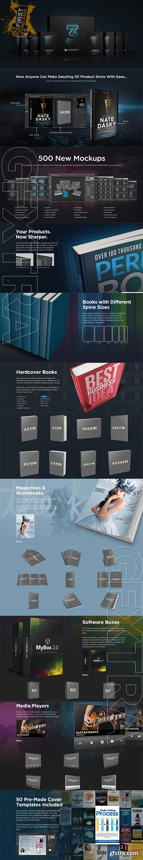 Cover Action Pro V3 - The Ultimate Marketing Toolkit for Adobe Photoshop