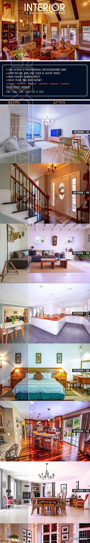 GraphicRiver - 10 Interior Color Photoshop Actions 25817627