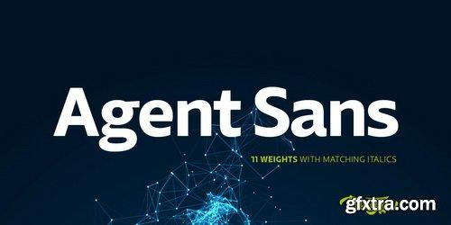 Agent Sans Font Family
