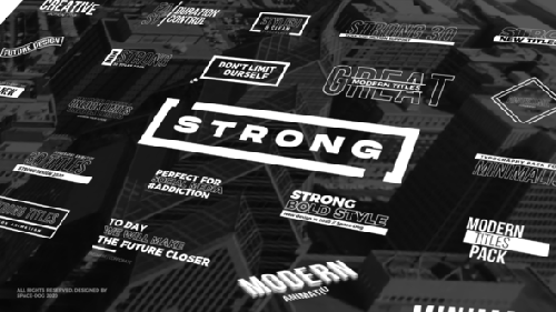 Videohive - Strong Titles | FCPX & Motion