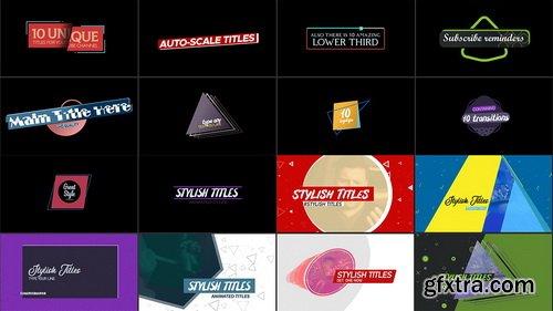 Videohive - Youtube Starter Pack 4K - 25809624