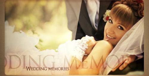 Videohive - Wedding memories