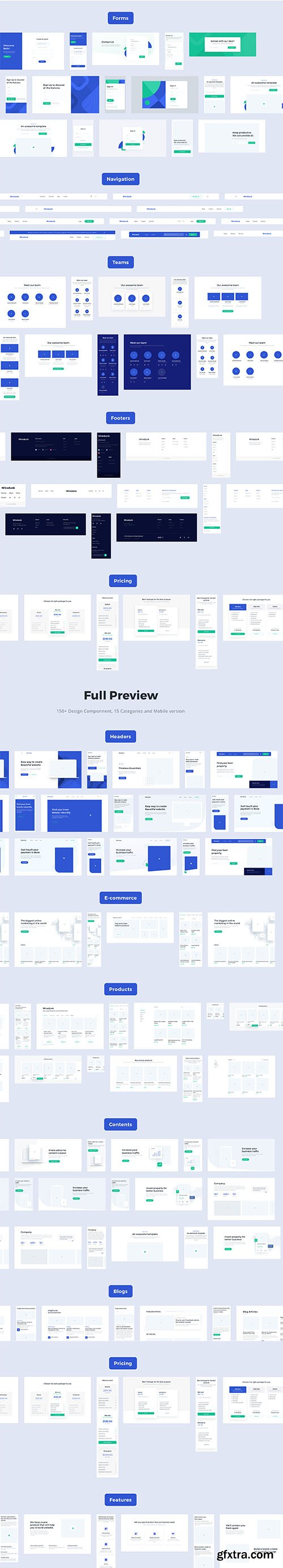 Wiredunk - Landing Page Template for Multipurposes