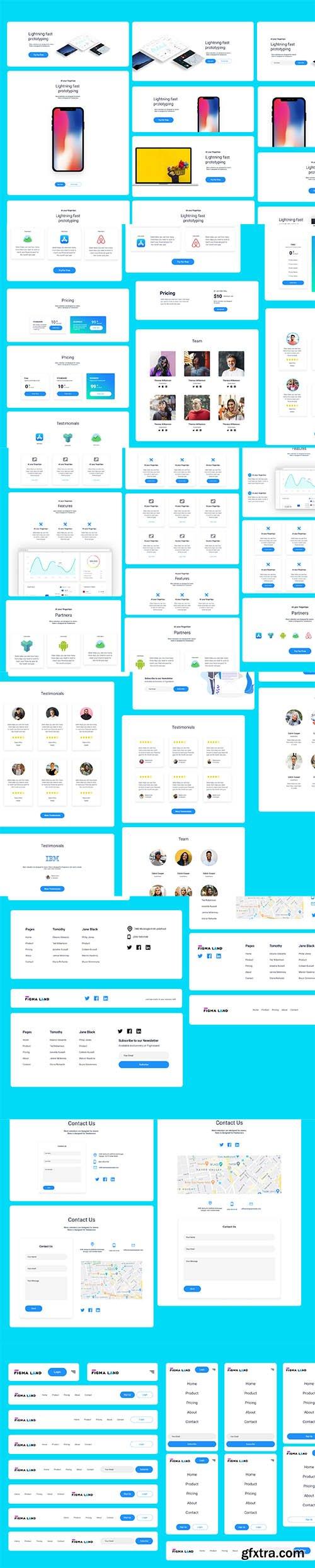 Figmaland - Startup Ui Kit