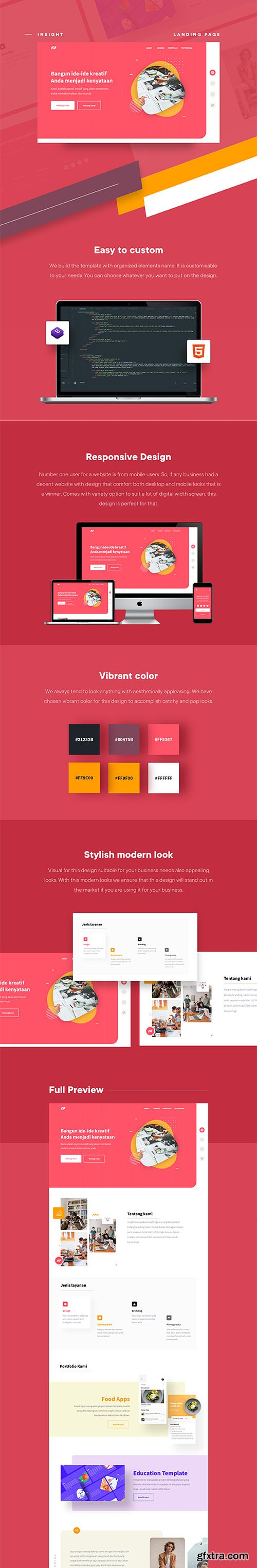 Insight - Awesome Website Template