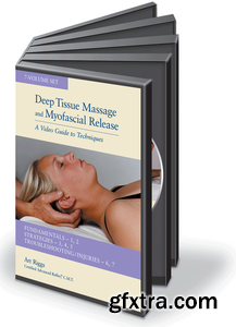 Art Riggs Deep Tissue & Myofascial Release Medical Massage Therapy (7 DVD Set)