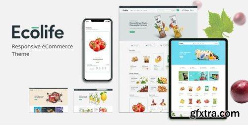 ThemeForest - Ecolife v1.0 - Organic & Food Prestashop Theme - 25992348