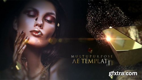 Videohive Go Gold Opener 25891322