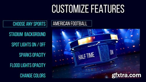 Videohive Sports Display Screens 25936480