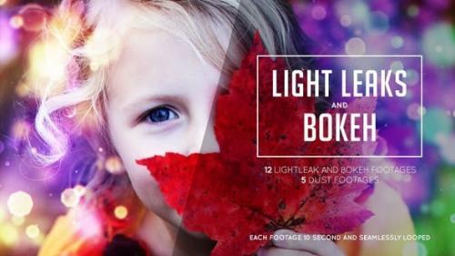 Videohive - Bokeh and Lightleak