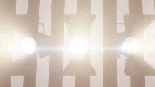 Videohive - Professional Stage Lighting Reflectors