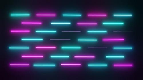 Videohive - Disco Lights Fosforoscente