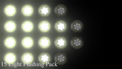 Videohive - 15 Light Flashing Pack