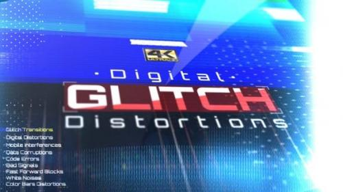 Videohive - Digital Glitch Distortions