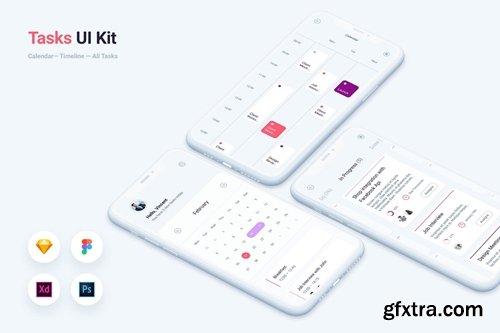 To do Tasks Mobile App UI Kit Template