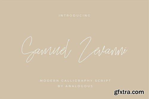 Business CardSamuel Zevanni Font