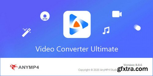 AnyMP4 Video Converter Ultimate 8.0.6 (x64) Multilingual