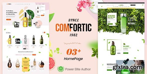 ThemeForest - Comfortic v1.0 - Clean Responsive Beauty & Cosmetic Shopify Theme - 26004230