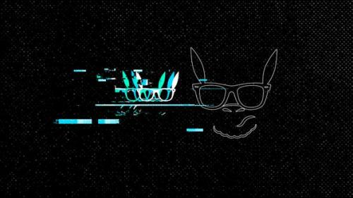Videohive - Glitch Logo Reveal