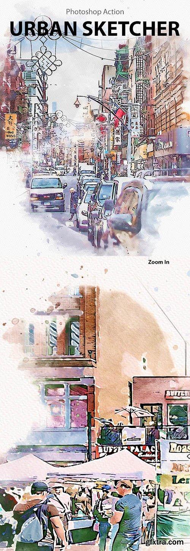 GraphicRiver - Urban Sketcher 25806000