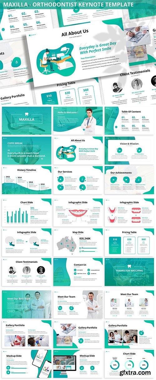 Maxilla - Orthodontist Keynote Template