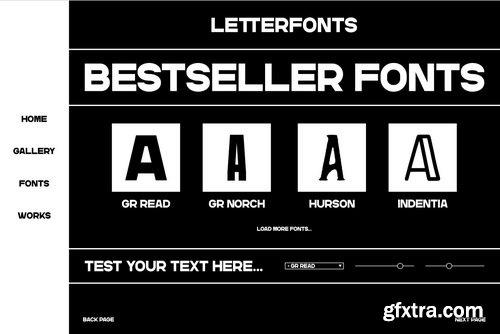 GR Read Font Family