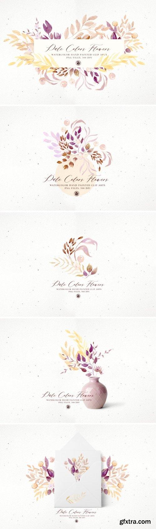 Pale Colors Flowers 3690235