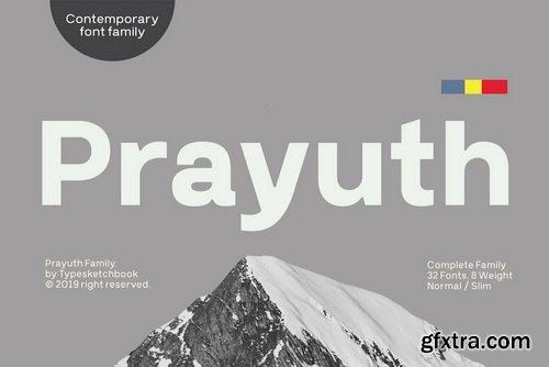 Prayuth Font Family
