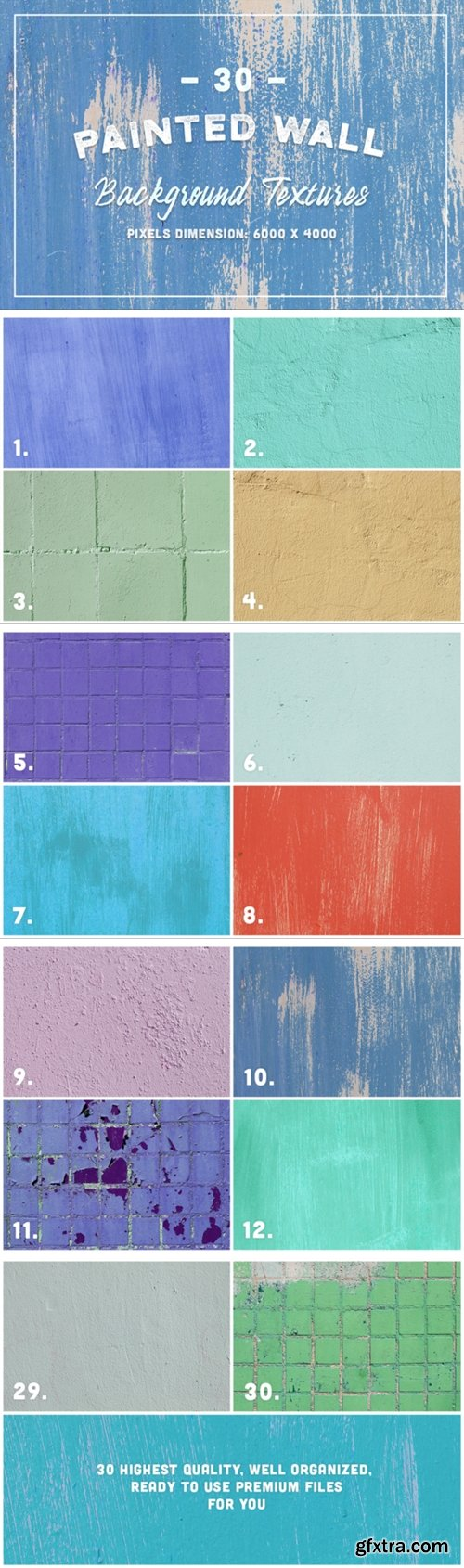 30 Painted Wall Background Textures 465565