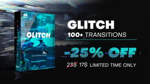 Videohive - Glitch Transitions