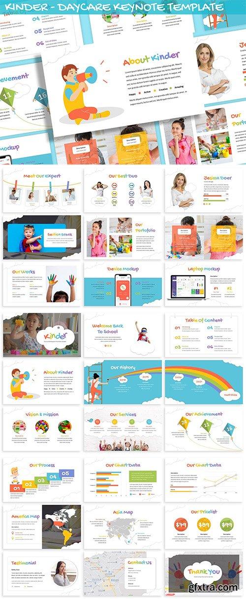 Kinder - Daycare Keynote Template