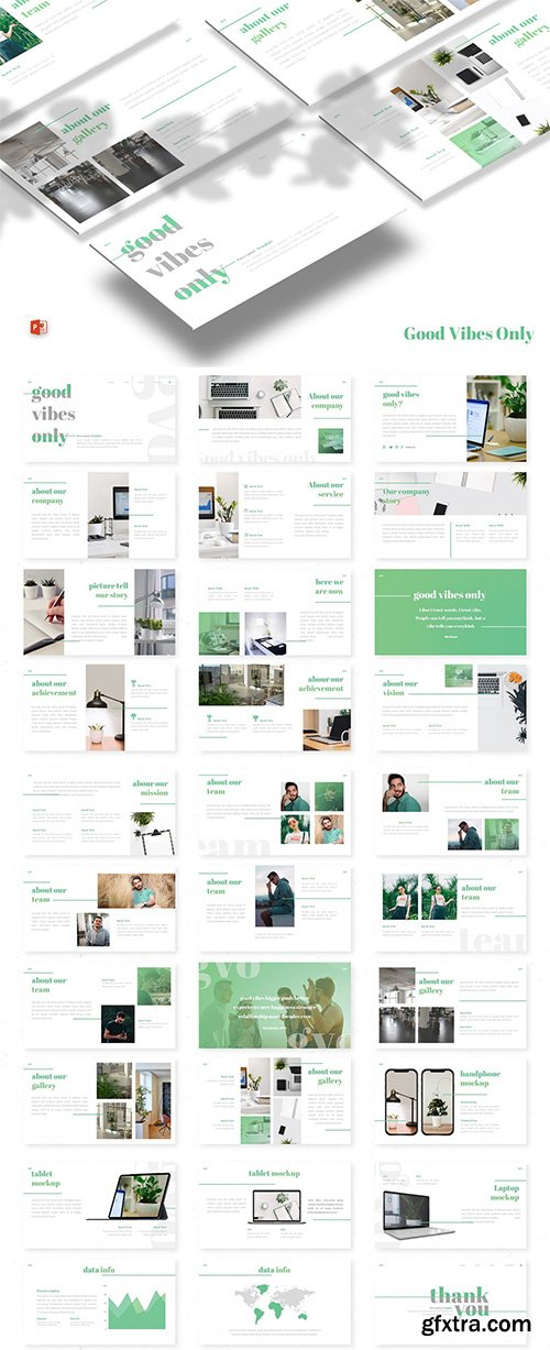Gvo - Powerpoint, Keynote and Google Slide Template