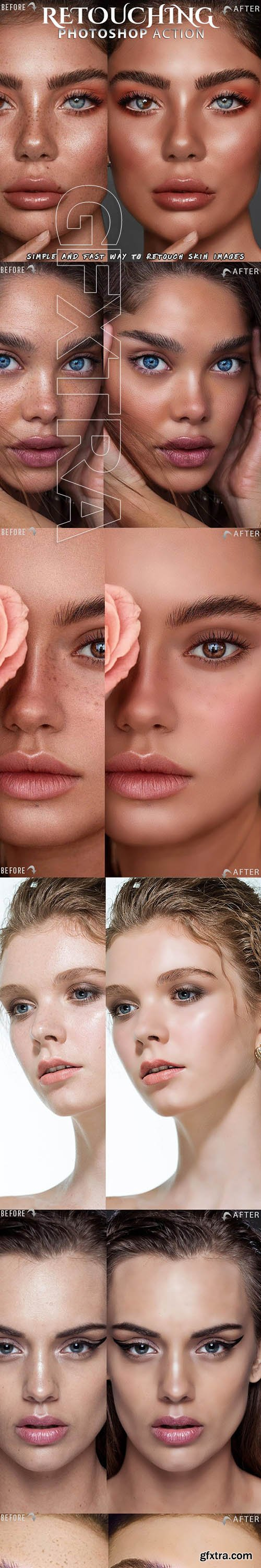 GraphicRiver - Skin Retouch Photoshop Action 25828641